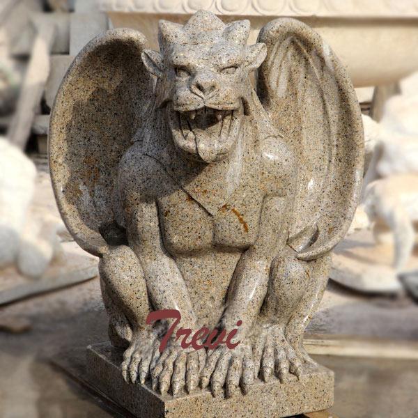 Outdoor stone garden gargoyles statues for sale TMA-43